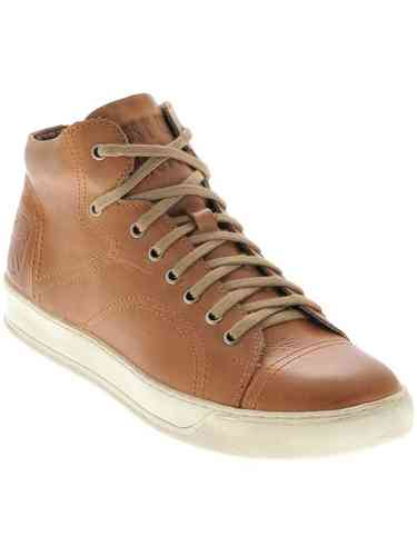 """LBC"" SNEAKERS GENUINE LEATHER - BROWN"