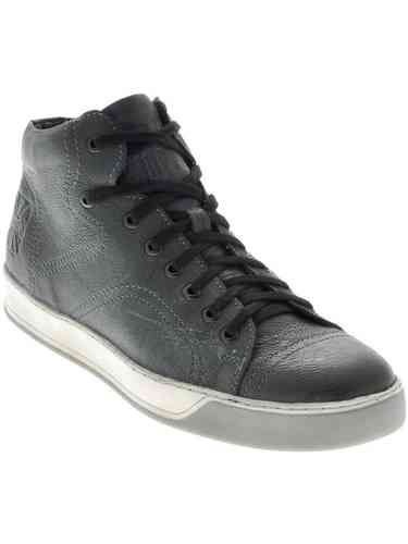 """LBC"" SNEAKERS GENUINE LEATHER - BLACK"