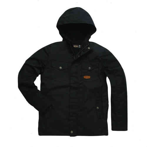 """INDUSTRY PARKA"" black von Jesse James - West Coast Choppers"