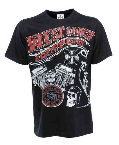 """CHOPPER MOTOR"" T-Shirt von West Coast Choppers"