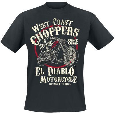 """EL DIABLO"" T-Shirt von West Coast Choppers"