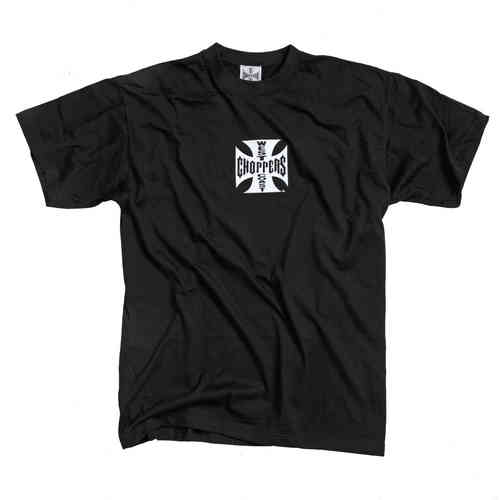"""IRON/ORIGINAL CROSS"" T-Shirt von West Coast Choppers"