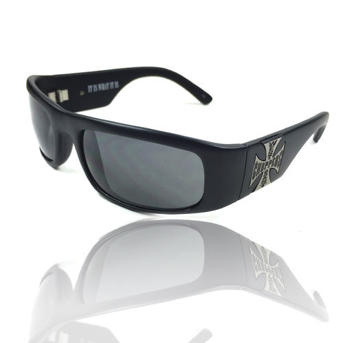 """WCC ORIGINAL CROSS"" smoked lenses Sonnenbrille von West Coast Choppers"