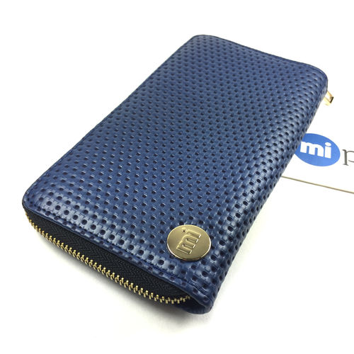PERF NAVY Zip Purse von mi-pac