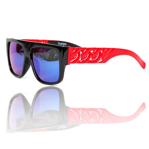 """Las Cadenas"" Sonnenbrille black/hot red"
