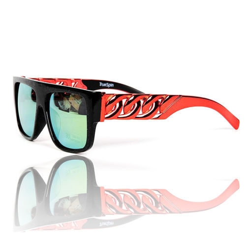 """Las Cadenas"" Sonnenbrille Black/Metallic-Red"