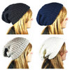 Long Beanie schwarz xtra-long thick