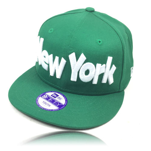 NEW ERA NY Kinder Cap green