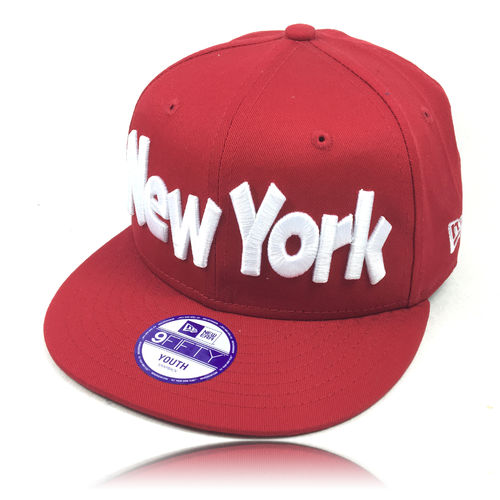 NEW ERA Kinder Cap NY red