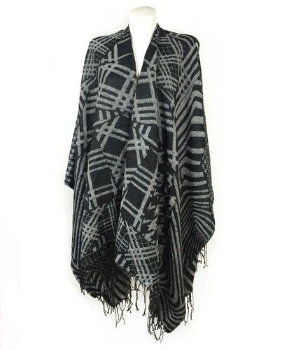 PONCHO Patterned
