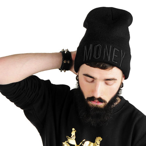 Money Beanie black/black