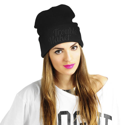 Trouble Maker Beanie black/black