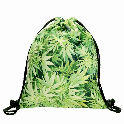 GYMBAG WEED Light Green