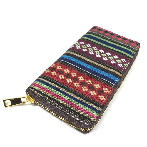 "Zip Purse ""Peru"" mixed"