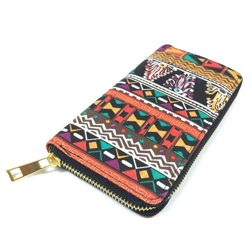 "Zip Purse ""Aztec"" schwarz"