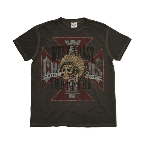 """INDIAN GLORY"" T-Shirt von West Coast Choppers"