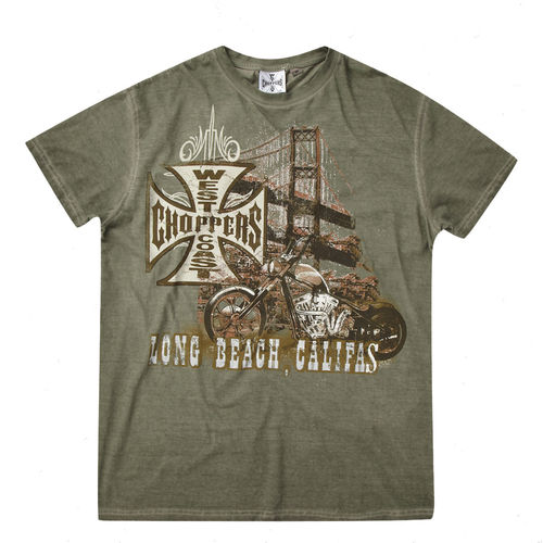 """BRIDGE"" T-Shirt von West Coast Choppers"