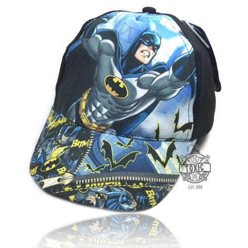 "Kinder Snapback Cap ""BATMAN"" black"