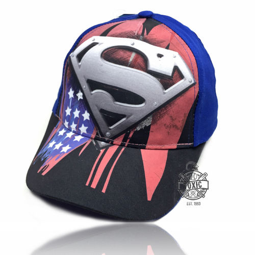 "Kinder Snapback Cap ""Superman"""