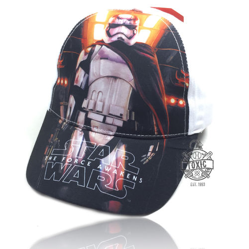 "Kinder Snapback Cap ""STAR WARS"" white"