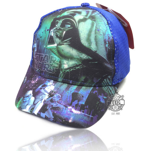 "Kinder Snapback Cap ""STAR WARS"" mesh royal"