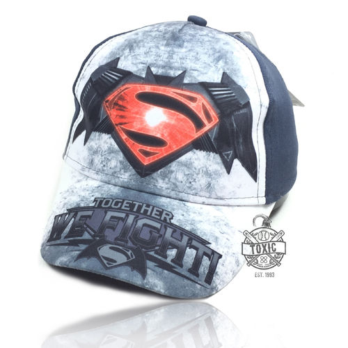 "Kinder Snapback Cap ""BATMAN vs SUPERMAN"" grey"