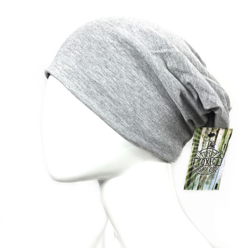 Basic Beanie heather grey