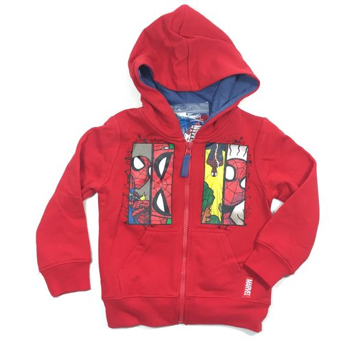 "Kinderziphoody ""SPIDERMAN"" red"
