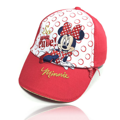 "Kinder Baseball Cap ""MINNIE MOUSE"" red"