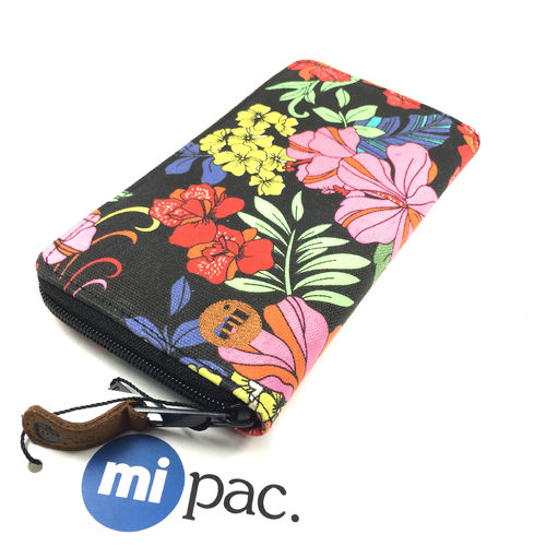 "ZIP PURSE ""TROPICAL FLORAL"" mi-pac"