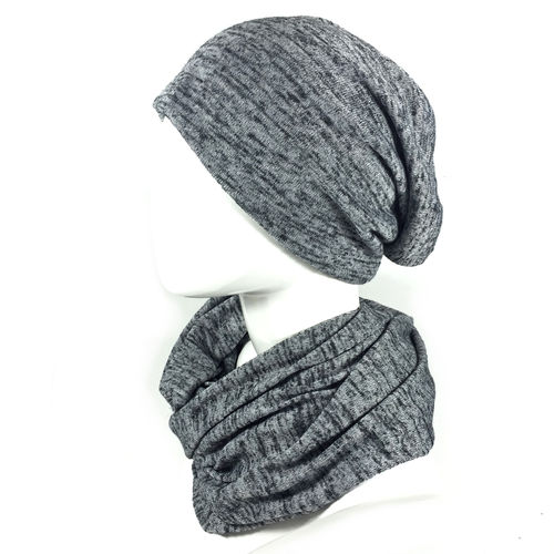 Strick SET Beanie & Loop Schal