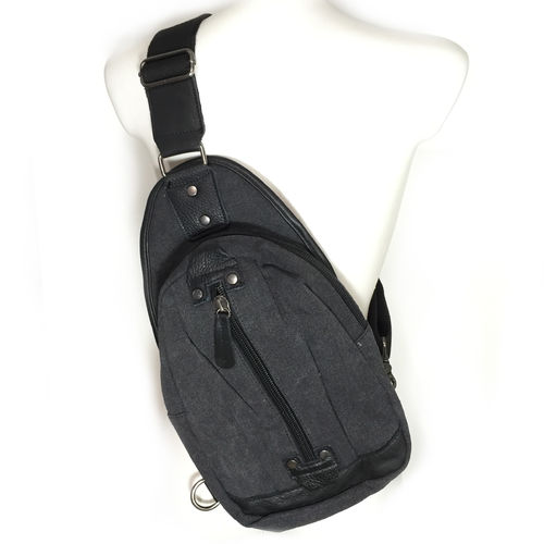 Side Sling Bag Toxic schwarz