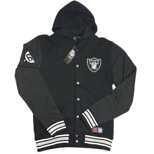 Oakland Raiders Sweatjacke mit Kaputze black
