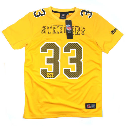 Majestic NFL Pittsburgh Steelers T-Shirt yellow