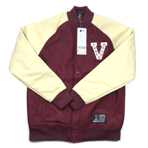 Vancouver Canucks Letterman College Jacket