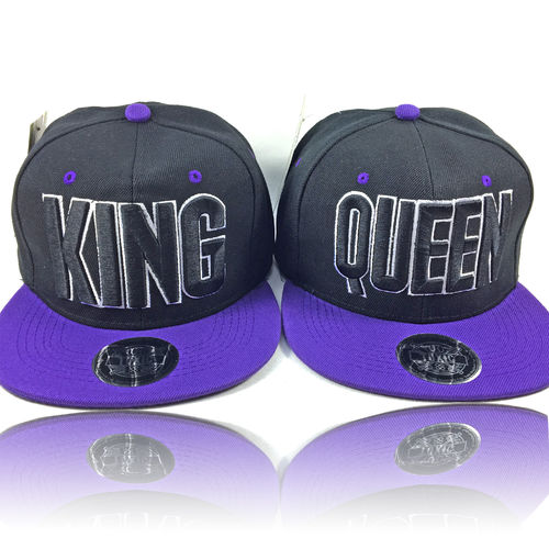 """KING & QUEEN"" PARTNER SET (2 Caps)"