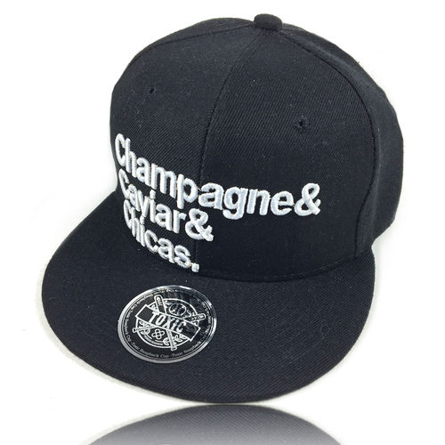 """CHAMPAGNE CAVIAR CHICAS"" Snapback Cap"
