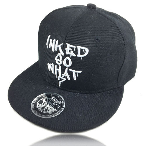 """INKED SO WHAT?"" Snapback Baseball Cap"