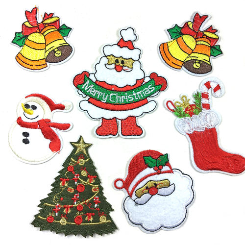 "Aufnäher ""X-MAS PATCH"" Set"