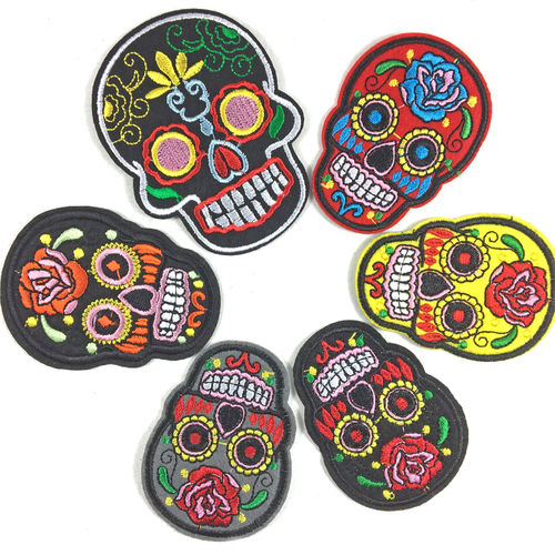 Aufnäher PATCH Set Sugar Skull