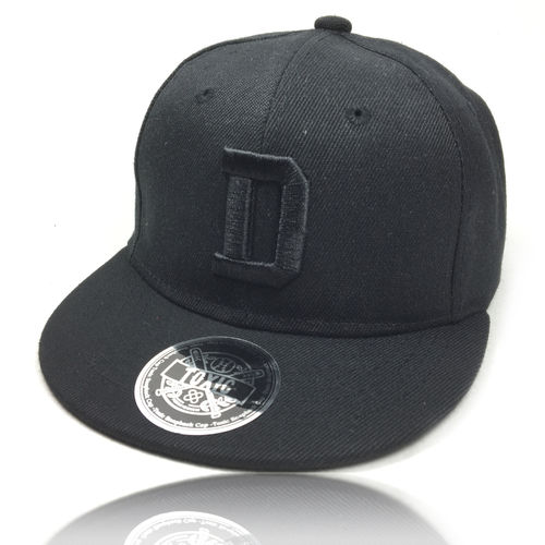 ABC Snapback Cap DEEP BLACK