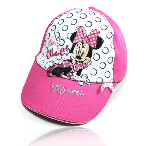 "Kinder Baseball Cap ""MINNIE MOUSE"" rosa"