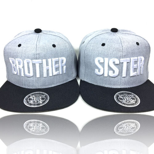 """Brother & Sister"" Snapback Cap"