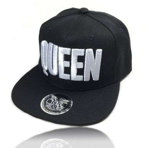 "Snapback Cap ""QUEEN"" Black/White"