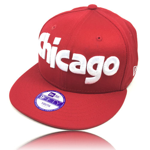 NEW ERA Kinder Cap Chicago red