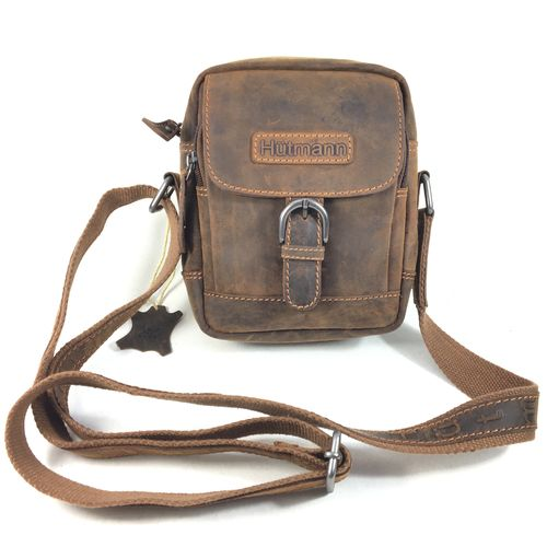 ESSENTIALS Bag Leder brown