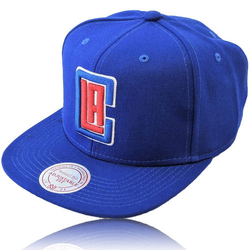 NBA Snapback Cap LA Clippers Solid royal