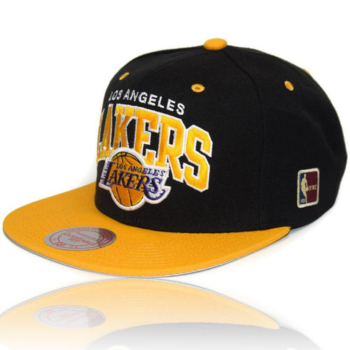 NBA Snapback Cap LA Lakers Team Arch Logo