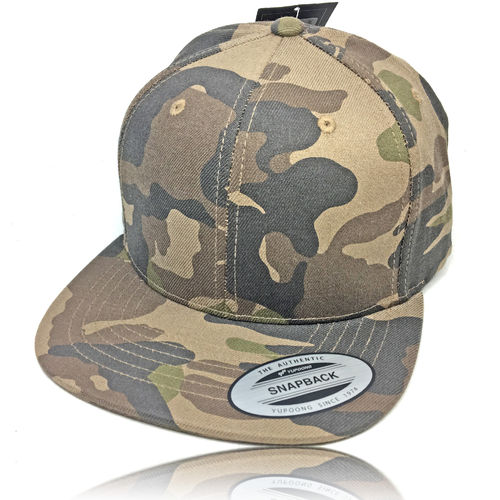 Yupoong Snapback Camouflage Cap by Flexfit