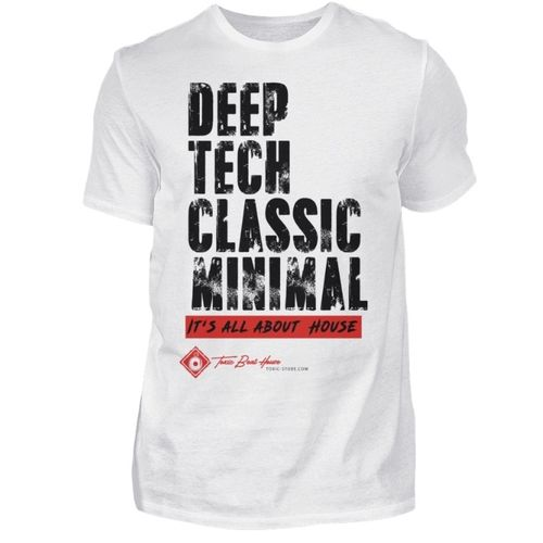 DEEP, TECH, CLASSIC, MIMIMAL T-SHIRT